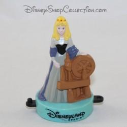 Figurine tampon Aurore princesse DISNEYLAND PARIS Mcdonald's La Belle au bois dormant Mcdo Disney 8 cm