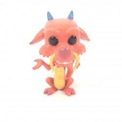 Figura del drago Mushu...