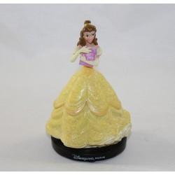 Figurine résine Belle DISNEYLAND PARIS La Belle et la bête livre Disney 11 cm