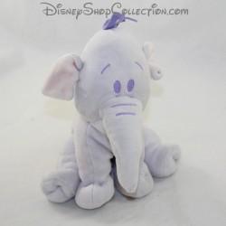 Peluche éléphant Lumpy DISNEY BABY Efelant violet 18 cm