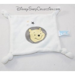 Doudou plat Winnie L'ourson CARREFOUR Disney carré