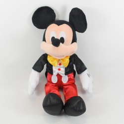 Peluche Mickey Mouse DISNEYLAND PARIS smocking satin classique 36 cm