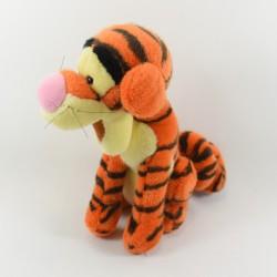 Peluche tigre Tigrou EURO DISNEY Winnie l'ourson assis vintage 30 cm