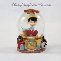 Mini snow globe DISNEY Pinocchio small snowball RARE 7 cm