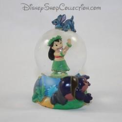 Mini snow globe DISNEY Lilo and Stitch small snowball RARE 7 cm