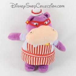 Peluche Hallie l'hippopotame NICOTOY Disney Docteur la peluche violet 32 cm