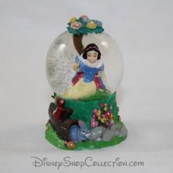 Mini snow globe DISNEY Blanche Neige et les 7 nains petite boule à neige RARE 7 cm
