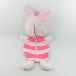 Range pyjama Porcinet DISNEY Carrefour Winnie et ses amis cochon rose 60 cm