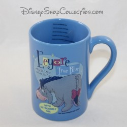 Taza en relieve Bourriquet DISNEY STORE Eeyore True Blue taza de cerámica 13 cm