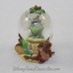 Mini globo di neve Baloo DISNEY Il libro giungla piccola palla di neve RARE 7 cm