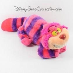 Peluche chat Cheshire DISNEY Alice aux pays des merveilles rose violet 30 cm