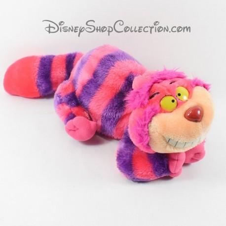 Cheshire DISNEY Alice in Wonderland purple pink 30 cm