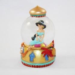 Mini snow globe DISNEY Aladdin princesse Jasmine petite boule à neige RARE 8 cm