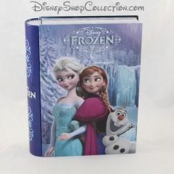 Boite en fer effet livre DISNEY La Reine des neiges Frozen 21 cm