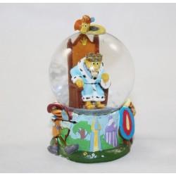 Mini snow globe DISNEY Robin des bois Prince Jean petite boule à neige RARE 8 cm