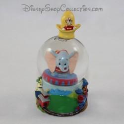 Mini globo de nieve DISNEY Dumbo pequeña bola de nieve RARE 8 cm