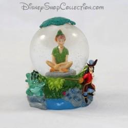 Mini globo de nieve DISNEY Peter Pan pequeña bola de nieve RARE 7 cm