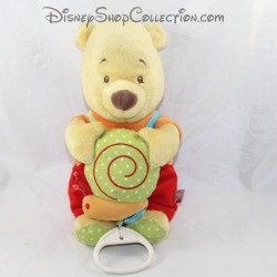 Toalla musical Winnie el CUB DISNEY BABY caracol rojo 27 cm