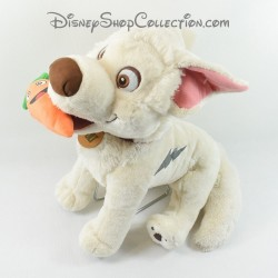 Peluche dog GIPSY Disney Volt Star despite him carrot in mouth 40 cm