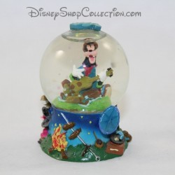 Mini snow globe DISNEY Dingo small snowball RARE 6 cm