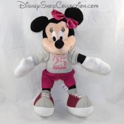 Peluche Minnie DISNEYLAND PARIS 25 ème anniversaire sweat basket Disney 28 cm