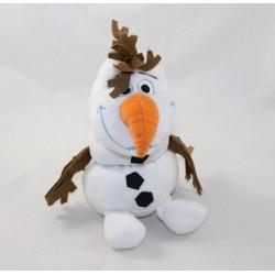 Trousse peluche Olaf DISNEY STORE La reine des neiges blanc 20 cm