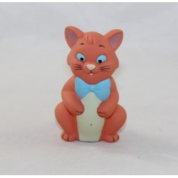 Figurine pouet Toulouse chat DISNEY STORE Les Aristochats pouet pouet pvc 9 cm