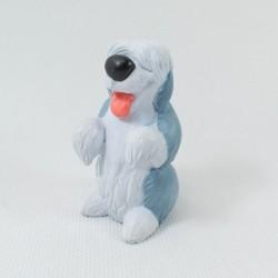Figurine Max chien DISNEY La petite sirène chien de Prince Eric gris pvc 6 cm
