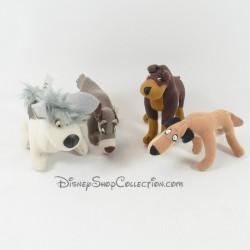 Peluches chiens McDONALD'S Disney La Belle et le clochard 2 Caïd et les sans colliers 7 cm