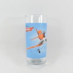 Verre haut avion Dusty DISNEY Planes bleu 13 cm