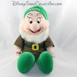 Happy dwarf with DISNEY STORE Snow White and the 7 Green Happy Dwarfs 40 cm