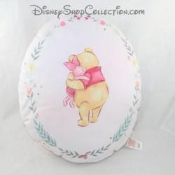 Winnie the POO PRIMARK Disney cuddle oval cushion with Hug Piglet 36 cm