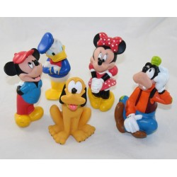 Jouet de bain Mickey DISNEY STORE lot de 5 figurines pvc