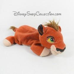 Peluche lion Kovu DISNEY STORE Le Roi Lion fils de Scar Beanie 20 cm