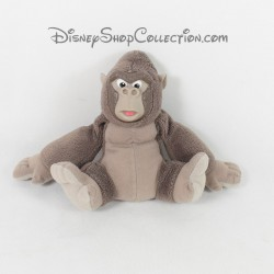 Peluche singe DISNEY MATTEL Tarzan gorille Flynt gris 15 cm