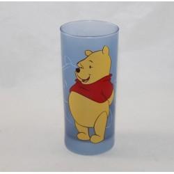 Verre haut Winnie l'ourson DISNEYLAND PARIS Winnie the Pooh bleu Disney 14 cm