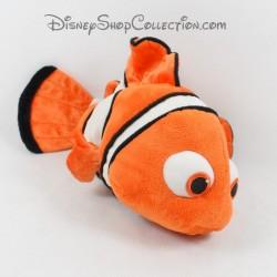 Peluche poisson Nemo DISNEY STORE Le Monde de Nemo poisson clown 33 cm