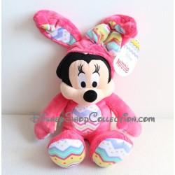 Peluche Minnie DISNEY STORE déguisé en lapin Pâques  année 2015