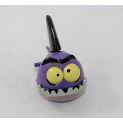 Figurine piranha Mordicus DISNEY McDonald's La petite sirène requin violet