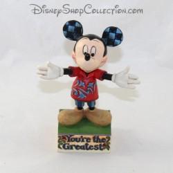 Tradiciones de Mickey DISNEY Jim Shore Eres la figura más grande