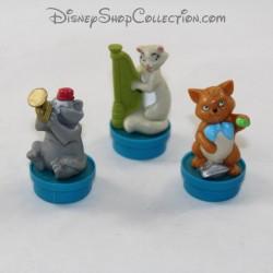 Lot de figurine bouchon de smarties NESTLÉ Disney Les Aristochats