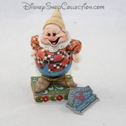 Happy Dwarf Figure DISNEY TRADITIONS Jim Shore Biancaneve e i 7 nani 11 cm