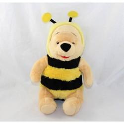 Peluche Winnie l'ourson DISNEY NICOTOY déguisé en abeille 25 cm