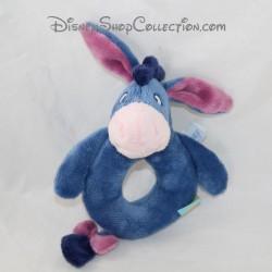 Hochet âne Bourriquet DISNEY BABY bleu grelot
