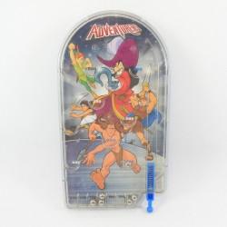 Mini flipper Adventurers DISNEY STORE pinball game Tarzan Crochet Hercule Aladdin Peter Pan