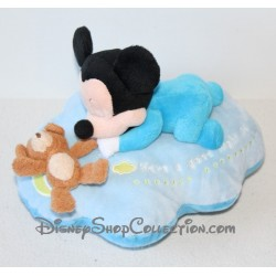 Plush Mickey DISNEYLAND PARIS Blue Moon cloud green Pooh