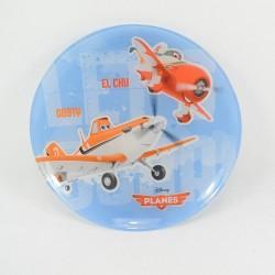 Assiette avion Dusty DISNEY Planes El Chu & Dusty bleu 20 cm