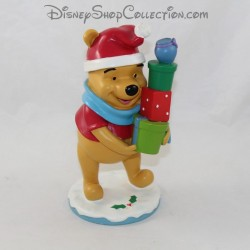 Figurine Winnie The bear cub DISNEY Christmas resin statuette collection 20 cm