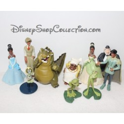 Figurines La princesse et la grenouille DISNEY STORE lot de 10 figurines playset
