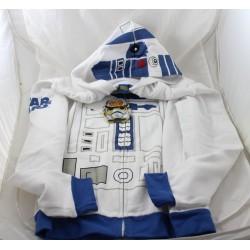 Sweat à capuche zippé R2D2 DISNEY droïde Star Wars veste 14 ans